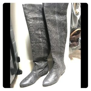 Pour La Victoire Over The Knee Boots